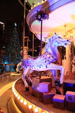 De markt van Kerstmis in Hongkong Stock Afbeelding