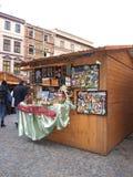 De markt van Kerstmis, Lublin, Polen Stock Afbeeldingen