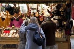 De markt van Kerstmis in München, Duitsland Royalty-vrije Stock Foto's