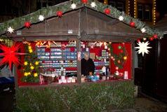 De markt van Kerstmis in Offenburg, Duitsland Royalty-vrije Stock Foto