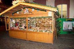 De markt van Kerstmis in Offenburg, Duitsland Royalty-vrije Stock Foto's