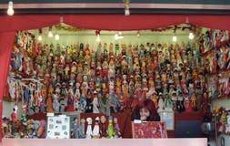 De markt van Kerstmis in Rome Royalty-vrije Stock Fotografie