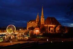 De Markt van Kerstmis van Erfurt   Stock Fotografie