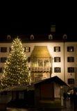 De Markt van Kerstmis van Innsbruck stock afbeeldingen