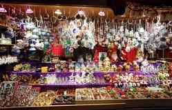 De markt van Kerstmis in Wenen, Oostenrijk Royalty-vrije Stock Afbeelding