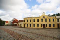 De markt van Klaipeda Stock Afbeeldingen