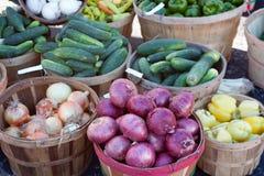 De Markt van landbouwers Royalty-vrije Stock Afbeelding