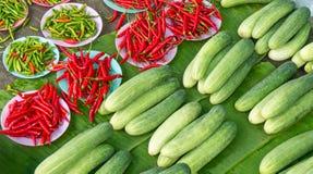 De markt van landbouwers Stock Fotografie