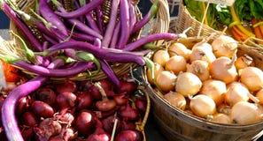 De markt van landbouwers Stock Foto's