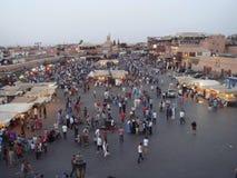 De markt van Marrakech Royalty-vrije Stock Afbeeldingen