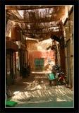 De Markt van Marrakech (Souk) Stock Afbeeldingen