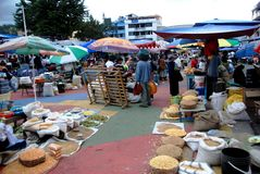De Markt van Otavalo - Ecuador Stock Foto's