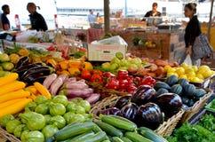De Markt van Shukhanamal in de haven Israël van Tel Aviv Stock Afbeeldingen