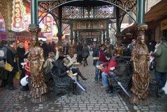 De Markt van stallen, Londen Royalty-vrije Stock Afbeeldingen