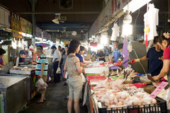De markt van Taiwan van Tradtional Royalty-vrije Stock Afbeeldingen