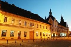 De Markt van Traian - het District van de Stof - Timisoara Royalty-vrije Stock Afbeeldingen