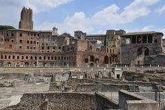 De Markt van Trajan Stock Fotografie