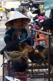 De Markt van Vietnam in Phu Quoc Stock Foto