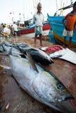 De markt van vissen Stock Afbeeldingen