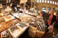 De markt van vissen in Hongkong Stock Afbeelding