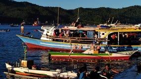 De markt van vissen in Hongkong Stock Foto