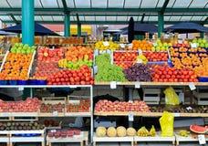 De markt van vruchten Stock Foto
