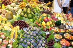 De markt van vruchten Stock Fotografie