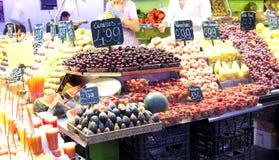 De markt van vruchten Stock Foto's
