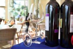 De Markt van wijnen Stock Foto's