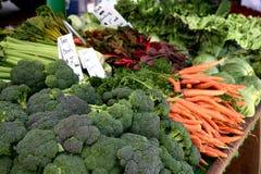 De Markt Veggies van de landbouwer Stock Afbeelding