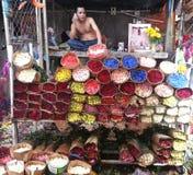 De Markt Vietnam van de bloem Royalty-vrije Stock Foto's