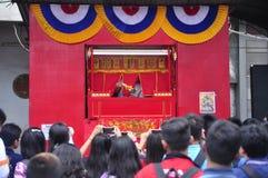 De markten stemden in met het Chinese Nieuwjaar in Semarang Royalty-vrije Stock Afbeeldingen