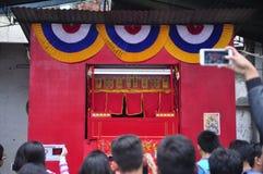 De markten stemden in met het Chinese Nieuwjaar in Semarang Royalty-vrije Stock Fotografie