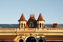 De Markten van de Kalgoorliestad - Australië stock fotografie