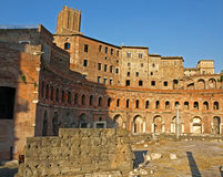 De Markten van Trajan royalty-vrije stock fotografie