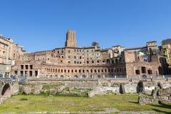 De Markten van Trajan royalty-vrije stock afbeeldingen
