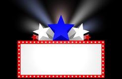 De Markttent van de film Stock Foto's