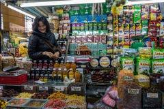 De Markttribune van Vietnam Stock Afbeelding
