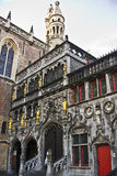 De marktvierkant van Brugge Royalty-vrije Stock Fotografie