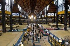 De marktzaal van de rooster, Boedapest stock foto
