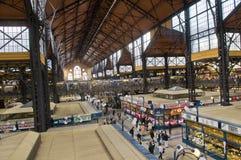 De marktzaal van de rooster, Boedapest stock afbeelding
