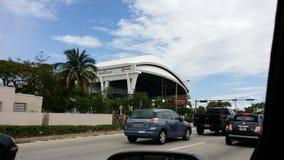 De Marlijnen Satdium van Miami Royalty-vrije Stock Afbeelding