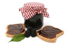 De marmelade van de braambes Royalty-vrije Stock Afbeelding