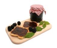De marmelade van de braambes Royalty-vrije Stock Foto