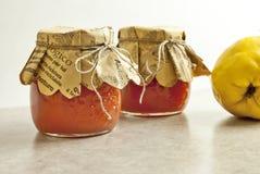 De marmelade van de kweepeer Stock Foto's