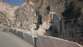 De marmeren bergen van Carrara