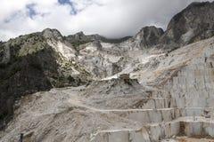 De Marmeren steengroeven van Carrara Royalty-vrije Stock Fotografie