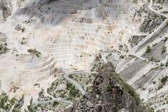 De Marmeren steengroeven van Carrara Stock Afbeelding