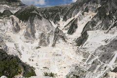 De Marmeren steengroeven van Carrara Royalty-vrije Stock Afbeelding