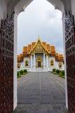 De Marmeren Tempel Stock Afbeeldingen